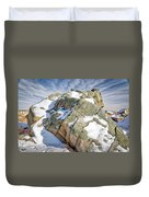 The Big Rock Duvet Cover