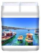 The Bosphorus Istanbul Duvet Cover