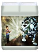 The Boy And The Lion 3 Duvet Cover