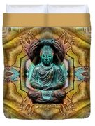 The  Buddhas Of Ayahrtyan  Duvet Cover