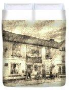 The Bull Pub Theydon Bois Vintage Duvet Cover