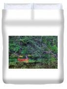The Canoe Duvet Cover