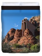 The Chapel Of The Holy Cross Duvet Cover