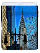 The Chrysler Building Duvet Cover