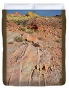 The Color Of Valley Of Fire Duvet Cover