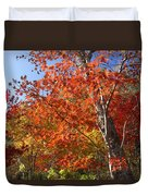 The Colors Of Autumn Duvet Cover