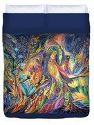 The Dance Of Oranges Duvet Cover