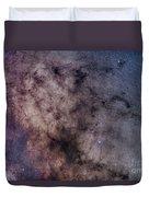 The Dark Horse And Snake Nebulae Duvet Cover
