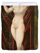 The Death Of Lucretia Duvet Cover