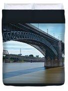 The Eads Bridge Duvet Cover