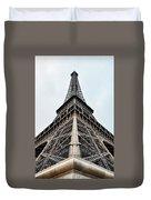 The Eiffel Tower In Paris Duvet Cover