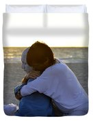 The Embrace Duvet Cover