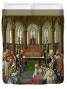 The Exhumation Of Saint Hubert Duvet Cover