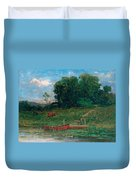 The Farm Landing Duvet Cover