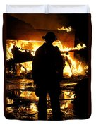 The Fireman Duvet Cover by Benanne Stiens