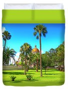 The First Baptist Church Of Tampa  Duvet Cover