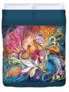 The Flowers Of Sea Duvet Cover
