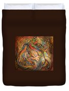 The Fluids Of Love Duvet Cover