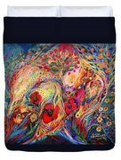 The Fruits Of Holy Land Duvet Cover