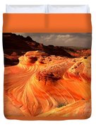 The Glowing Dragon Duvet Cover
