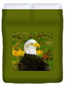 The Great Bald Eagle Duvet Cover