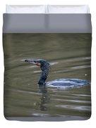 The Great Cormorant Duvet Cover