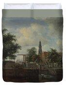 The Haarlem Lock Amsterdam Duvet Cover