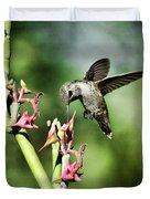 The Hummingbird  Duvet Cover
