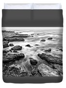 The Jagged Rocks And Cliffs Of Montana De Oro State Park Duvet Cover
