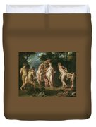 The Judgment Of Paris Duvet Cover