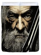 The Leader Of Mankind  - Gandalf / Ian Mckellen Duvet Cover