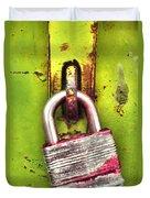 The Lock Duvet Cover