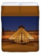 The Louvre Art Museum Duvet Cover