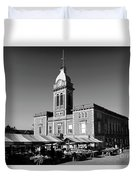 The Market Hall, Market Square, Chesterfield Town, Derbyshire Duvet Cover