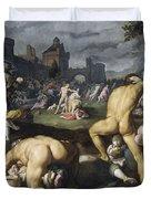 The Massacre Of The Innocents, 1590 Duvet Cover