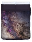 The Milky Way Around The Small Duvet Cover