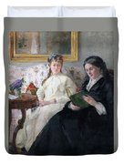 The Mother And Sister Of The Artist Duvet Cover