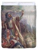 The Nativity Duvet Cover