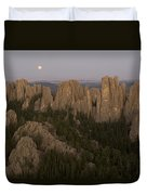 The Needles Protrude From Forests Duvet Cover
