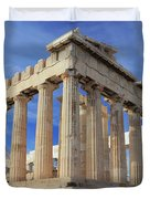 The Parthenon Acropolis Athens Greece Duvet Cover