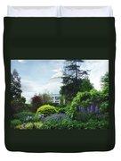 The Perennial Garden Duvet Cover