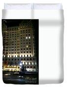 The Plaza Hotel Duvet Cover