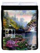 The Prayer Garden 3 Duvet Cover
