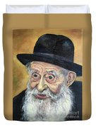 The Rabbi Duvet Cover