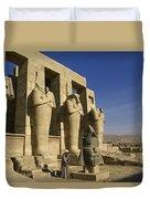 The Ramesseum Duvet Cover