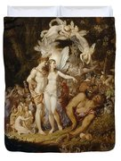 The Reconciliation Of Oberon And Titania Duvet Cover
