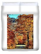 The Richness Of Autumn Treasures Duvet Cover