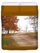 The Road Untraveled Duvet Cover