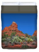 The Sphinx Rock Formation Duvet Cover