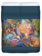 The Spirit Of Jerusalem Duvet Cover